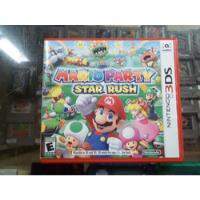 Mario Party Star Rush Nintendo 3ds segunda mano  Morelia