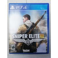 Sniper Elite 3 Ps4 -- The Unit Games segunda mano  Aguascalientes