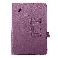 New Acer Iconia B1-A71 Tablet Case PU Leather Purple Flip Cover Hard Wearing, usado segunda mano  Embacar hacia Mexico