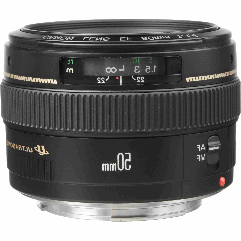 lente canon 50mm 1 4 de segunda mano