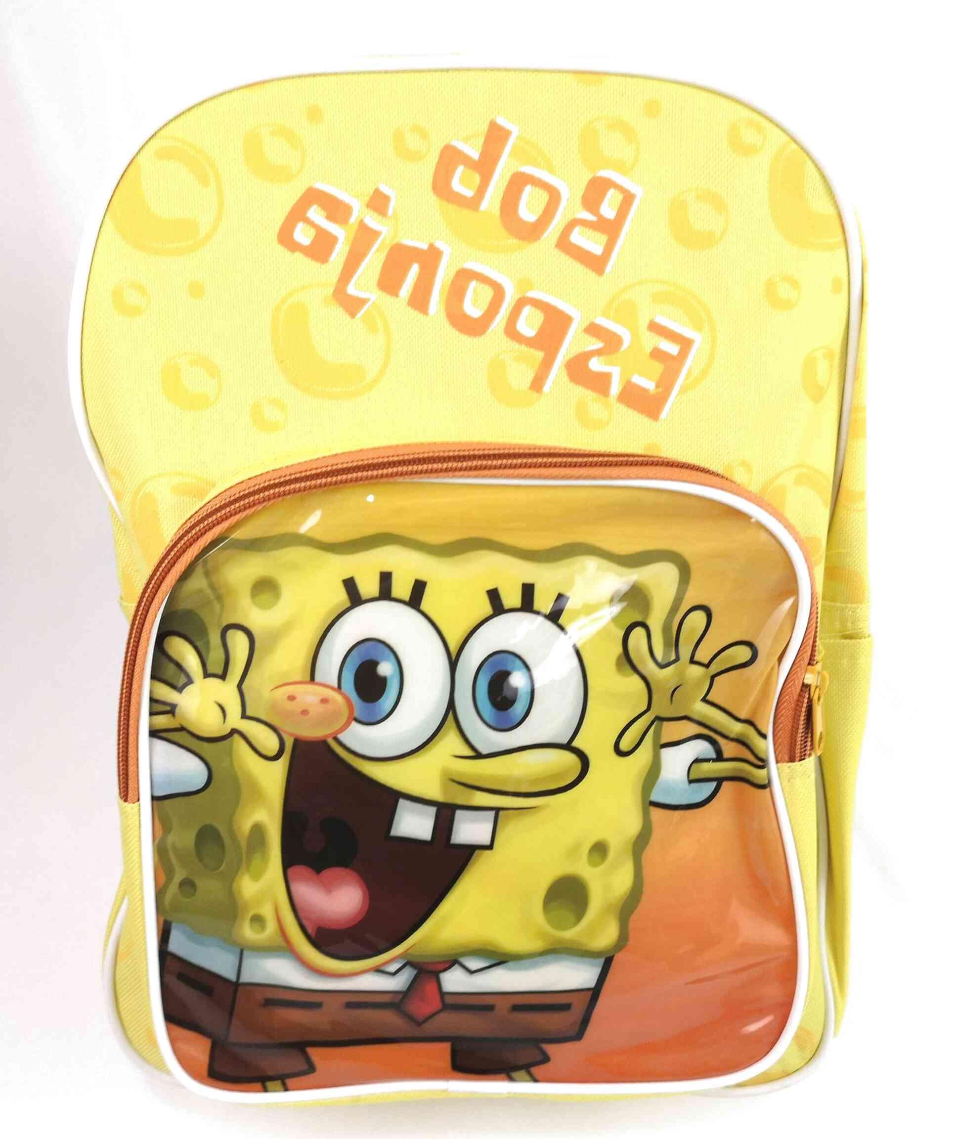 mochila bob esponja de segunda mano