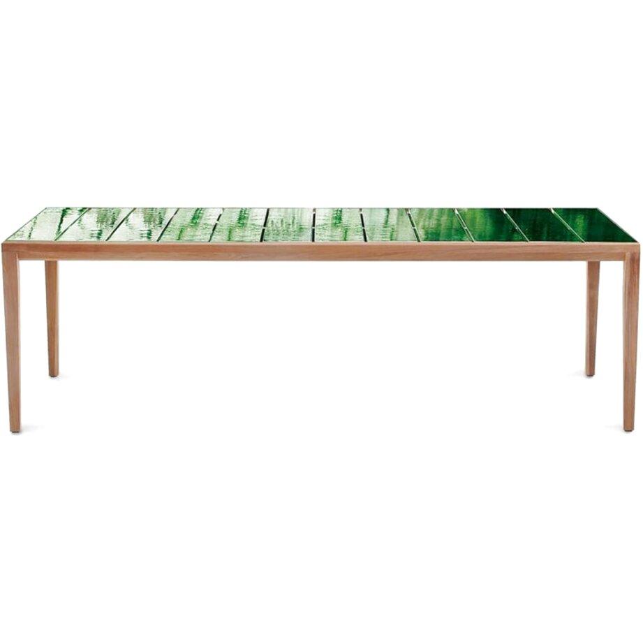 mesa teka de segunda mano