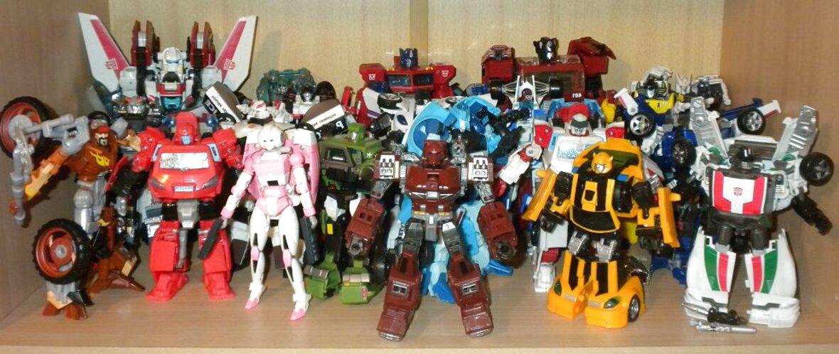 coleccion transformers de segunda mano