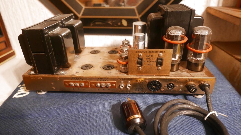 amplificador bulbos de segunda mano