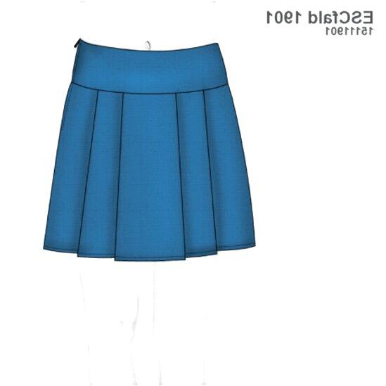 falda escolar de segunda mano