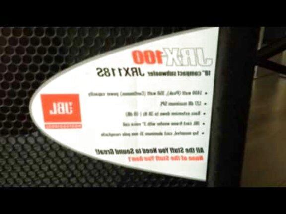 bafle jbl jrx 100 de segunda mano