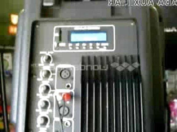 bafle kaiser 15 amplificado de segunda mano