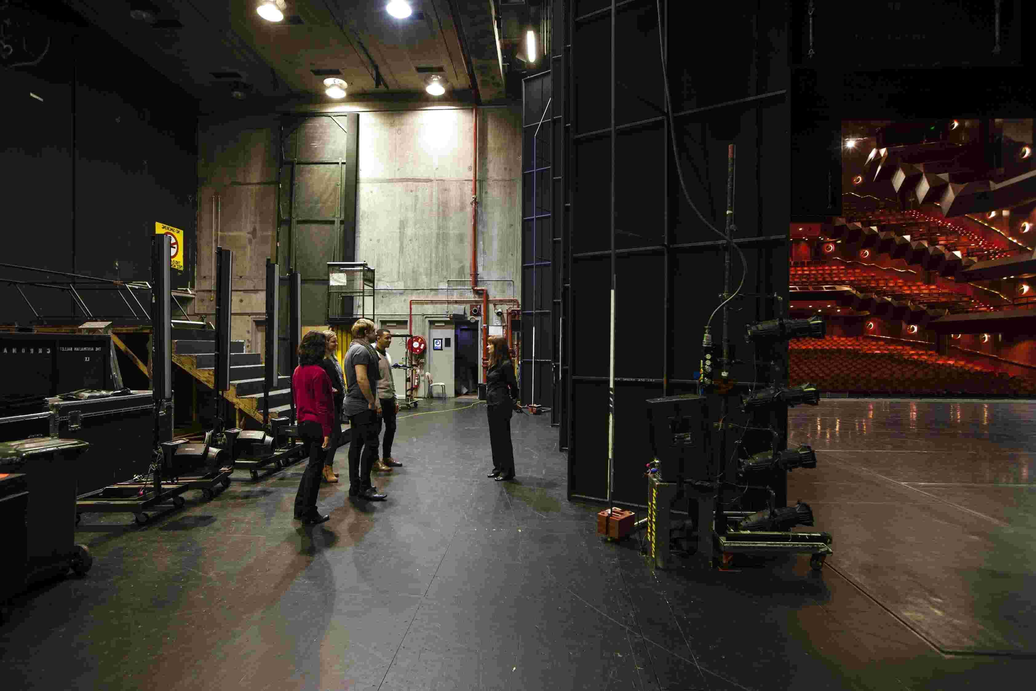 backstage de segunda mano