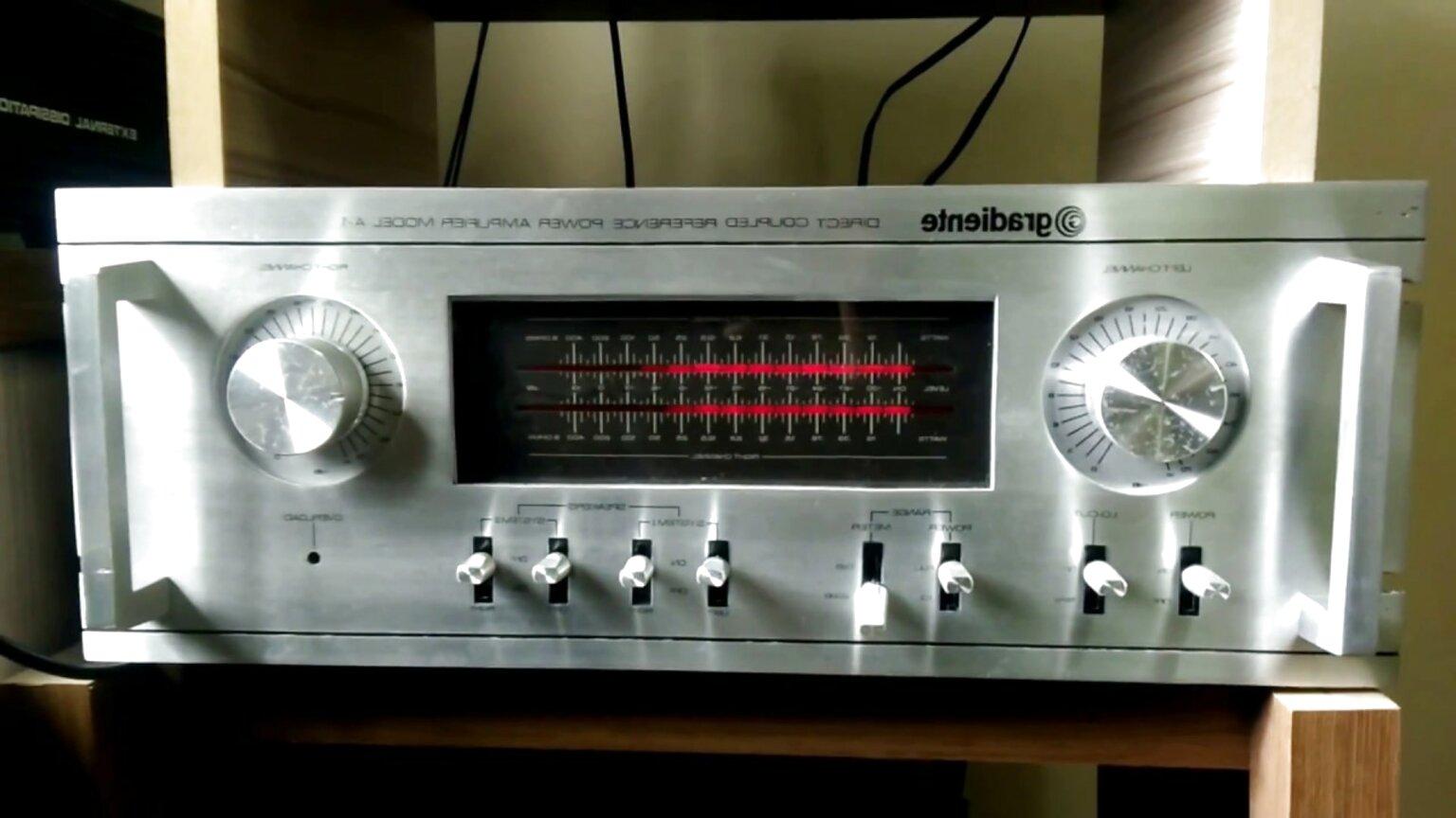 amplificador gradiente de segunda mano