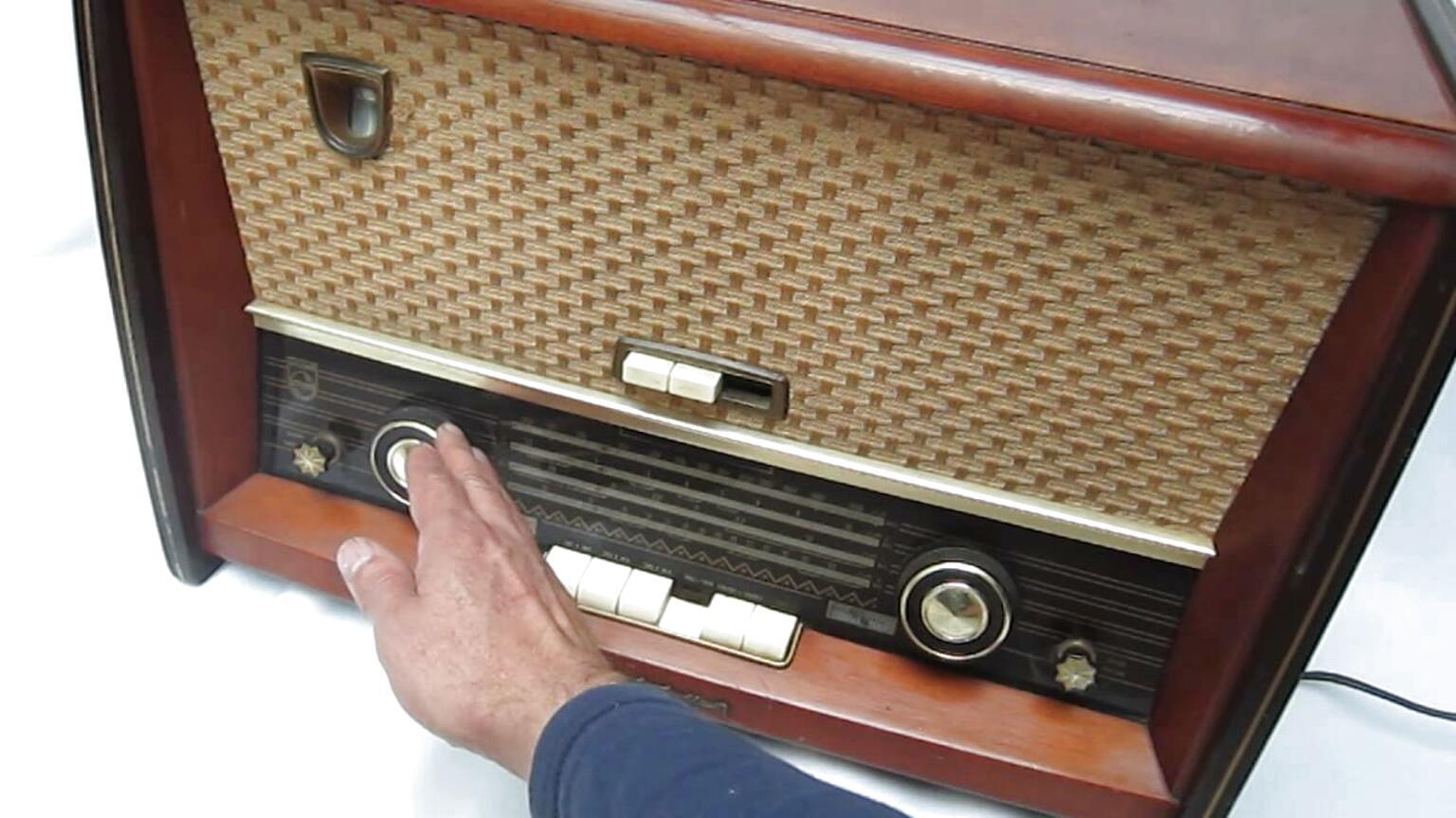 radio philips antiguo de segunda mano