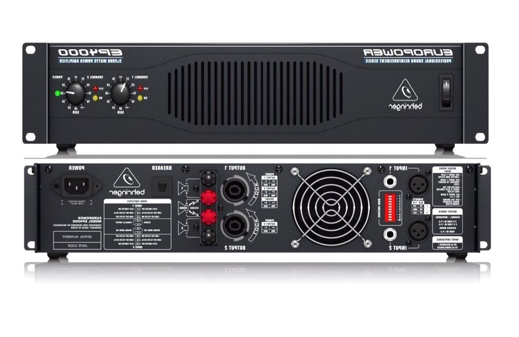 amplificador behringer ep4000 de segunda mano