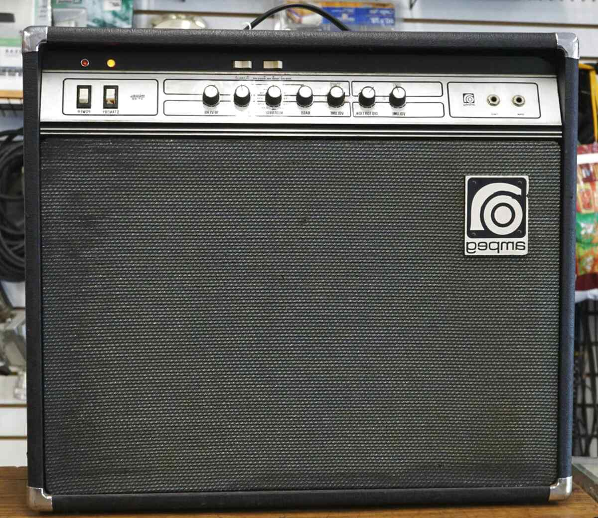 amplificador ampeg de segunda mano