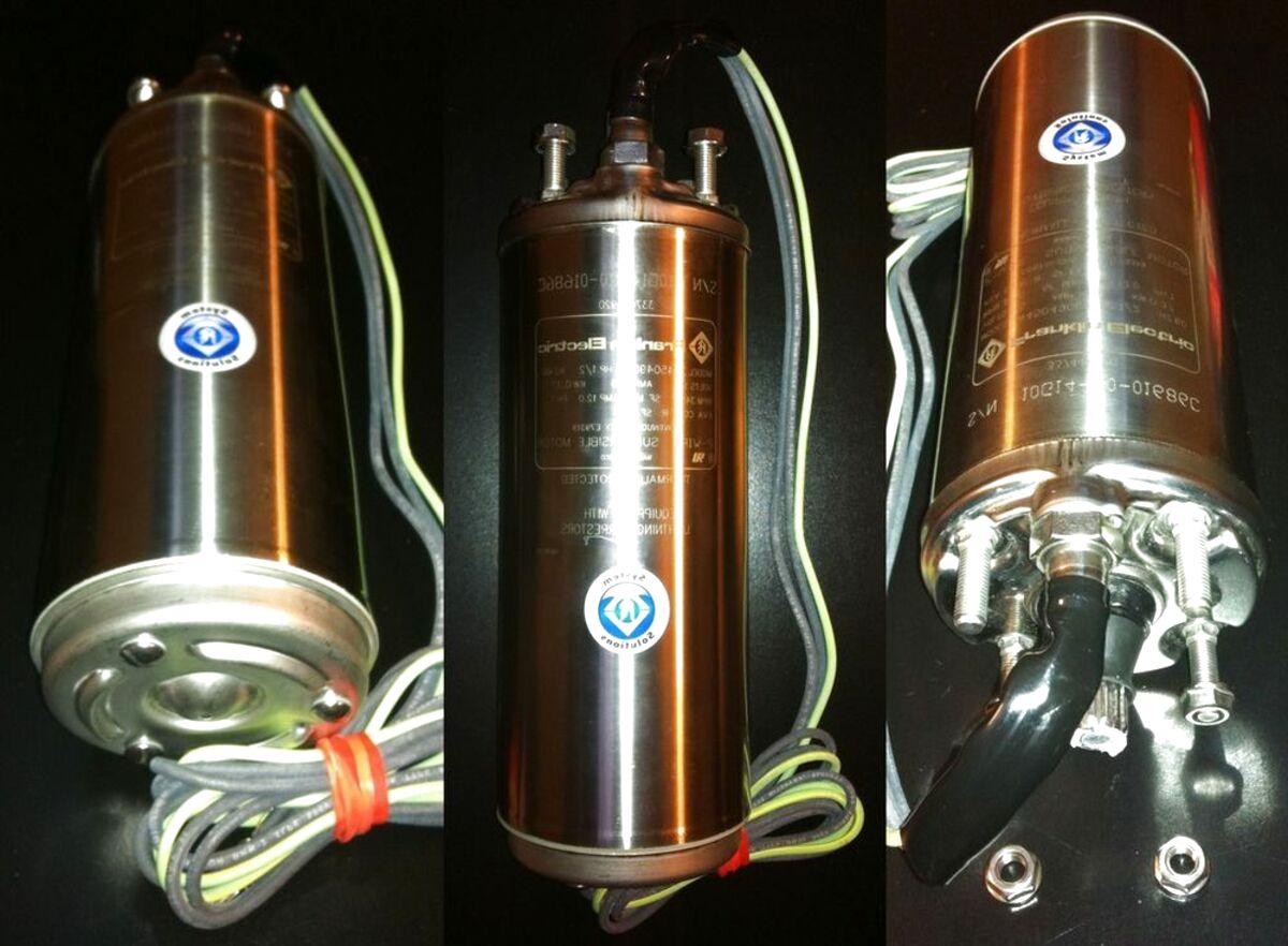 bomba sumergible franklin 2 hp de segunda mano